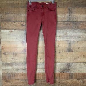 Rag & Bone skinny jeans clay red Size 25